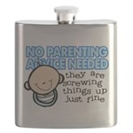 No Parenting Advice Needed Flask