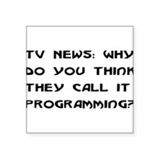 "programming01.png Square Sticker 3"" x 3"""