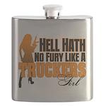 Hell Hath No Fury - Trucker's Girl Flask