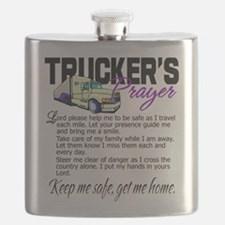 Trucker's Prayer Flask