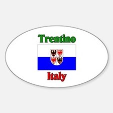 Trentino Italy Oval Decal