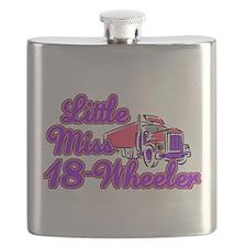 Little Miss 18-Wheeler Flask