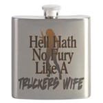 Hell Hath No Fury - Trucker's Wife Flask