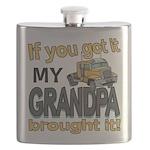 Grandpa Brought it Flask
