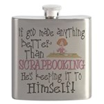 Anything Better Than Scrapbooking Flask