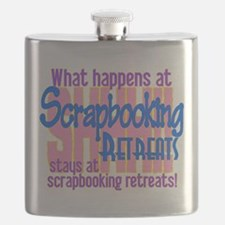 Scrapbooking Retreats Shhh! Flask