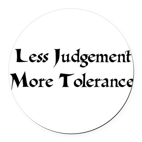 tolerance01a.png Round Car Magnet