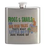 Frogs & Snails Flask