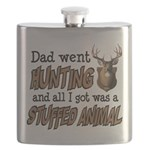 Dad Went Hunting Flask