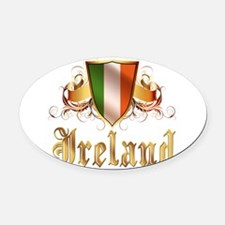 ireland.png Oval Car Magnet