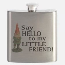 Funny Gnomes Flask