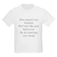 Good Fortune (Ancient Languag Kids T-Shirt