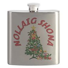 Irish Christmas(blk).png Flask