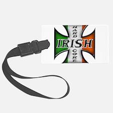 irish to the bone(blk).png Luggage Tag