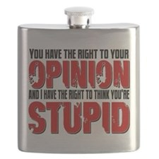 Stupid Opinion Flask