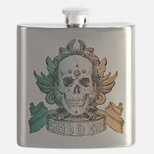 irish to the bone(blk).png Flask