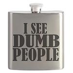Dumb People Flask