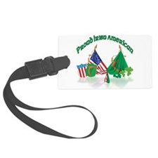made in ireland.png Luggage Tag