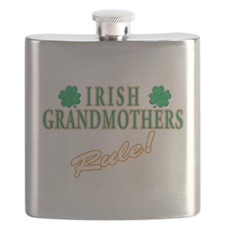 irish grandmother(white).png Flask