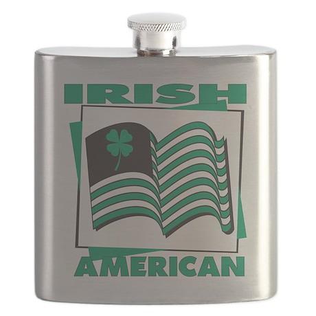 Irish american T-Shirt.png Flask