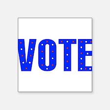 """vote05.png Square Sticker 3"""" x 3"""""""