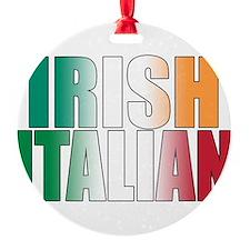 Irish Italian Ornament