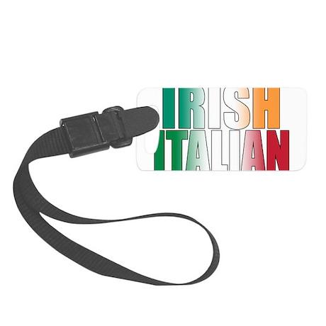 Irish Italian Small Luggage Tag
