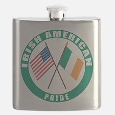 Irish American pride Flask