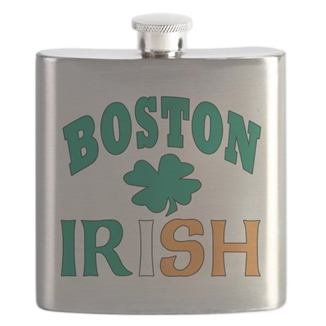 Boston irish Flask