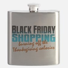 Black Friday - Thanksgiving Calories Flask
