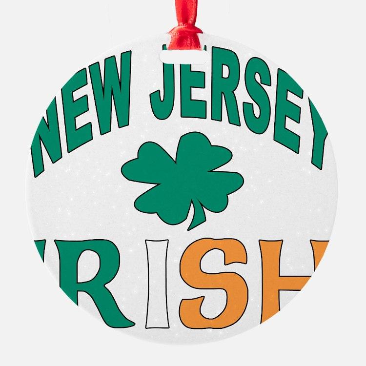 New jersey irish Ornament
