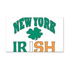 New York irish Rectangle Car Magnet