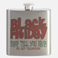 Black Friday Shop 'Till You Drop Flask