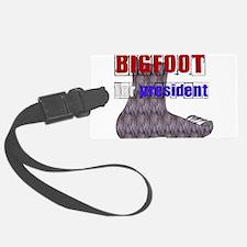 bigfoot_president01.png Luggage Tag