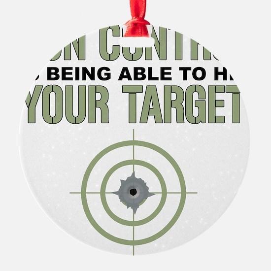 Gun Control Ornament