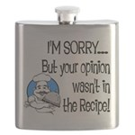 Your Opinion Wasn't In It Flask