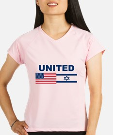 Support Isreal Performance Dry T-Shirt