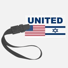 Support Isreal Luggage Tag