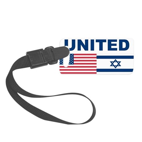 Support Isreal Small Luggage Tag