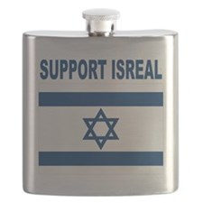 Peace for Isreal Flask
