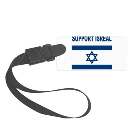 Peace for Isreal Small Luggage Tag
