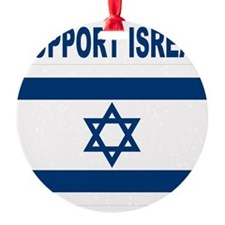 Support Isreal Ornament