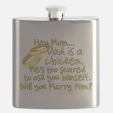 Will you marry Daddy? Flask