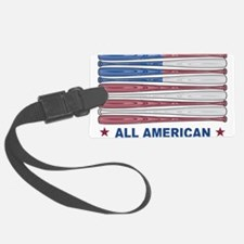 Land of the free Luggage Tag