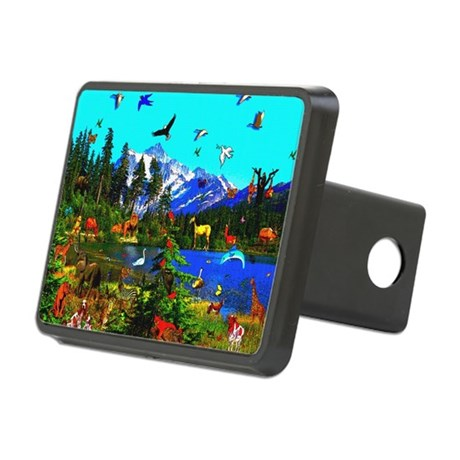 smposter_animals01.png Rectangular Hitch Cover