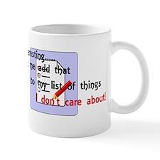 My List Mug
