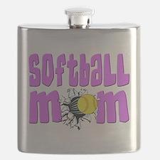 Softball mom Flask