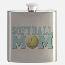 softball mom(white).png Flask