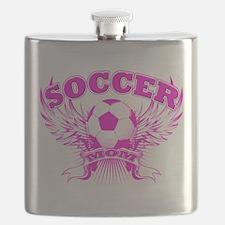 soccer MOM shield.png Flask