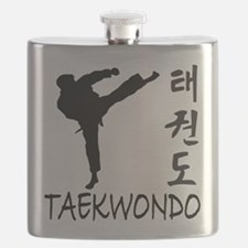 old tae kwon do(pink).png Flask